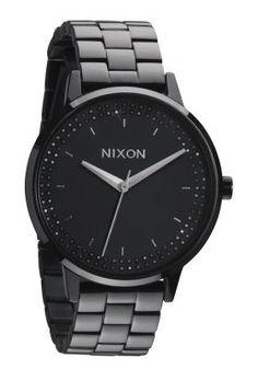 Nixon The Kensington All Black Damenuhr