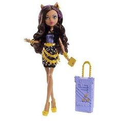 Monster High Scaris Clawdeen Wolf Doll