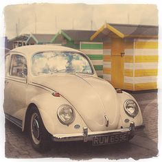 Vintage Car Photography  VW Betle Limited Edition by GoldenShutter, $20.00