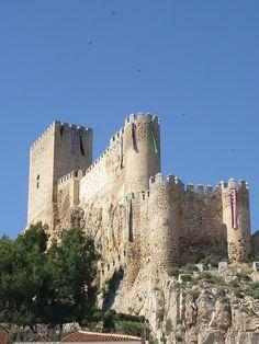 Castillo de Almansa, Albacete (Spain)
