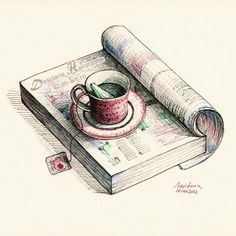 café desenho tumblr - Pesquisa Google