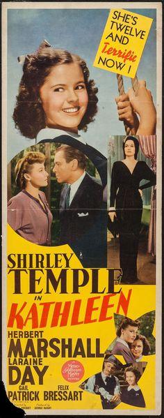 "Movie Posters:Romance, Kathleen (MGM, 1941). Insert (14"" X 36""). Romance.. ... Image #1"