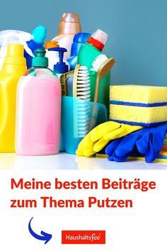 Unzählige Tipps zur Hausarbeit, Putzen, Flecken entfernen, verstopfter Abfluss, Kalk auf der Dusche uvm.
