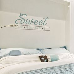 Cutting Edge Stencils - Sweet Dreams Quote Wall Stencil