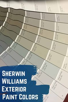 Check out some of the most popular Sherwin Williams exterior paint colors. These 10 Sherwin WIlliams paint colors are guaranteed to boost the curb appeal of your homes exterior. Beige Paint Colors, Best Gray Paint Color, Paint Color Combos, Front Door Paint Colors, Popular Paint Colors, Paint Colors For Home, Color Combinations, Best House Colors Exterior, House Paint Exterior