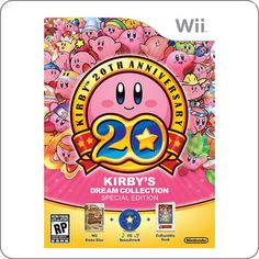 chegou: Wii Kirby´s Dream Collection Special Edition R$164.90