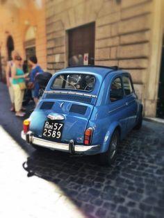 Fiat 500 | Rome | Italy