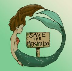 Save the Mermaids by emimichelle.deviantart.com on @deviantART