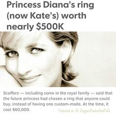 They laughed at #PrincessDiana's sapphire engagement ring...until it appraised for $500K. Today's #ThursdayThought: Do you! ✨ #ThrowbackThursday #ThursdayThoughts #morningmotivation #sapphire #gemstone #sapphire #EngagementRing #RoyalFamily #lifelessons #riseandshine #happiness #love #determination #goals #motivation #positivity #quoteoftheday #qotd #quote #success #winning  #lifecoach #transformation #inspiration #creative #art #lifegoals #entrepreneur #photooftheday