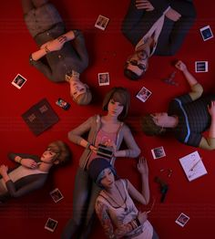Life is Strange - Max, Chloe, Kate, Victoria, Jefferson and Warren / by Maiqueti Life Is Strange Jefferson, Life Is Strange 3, Chloe Price, Life Is Strange Characters, Overwatch, Yuri, Dontnod Entertainment, Arcadia Bay, Max And Chloe