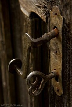 antique door knobs | Antique Door Knob & Key Pictures, Photos, and Images for Facebook ...