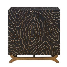 World Menagerie Montag 2 Door Accent Cabinet Console Cabinet, Cabinet Doors, Small Home Offices, Gold Wood, Living Room Modern, Adjustable Shelving, All Modern, Living Room Furniture, Office Furniture