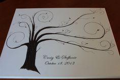 Thumbprint tree, Trees and Family trees on Pinterest