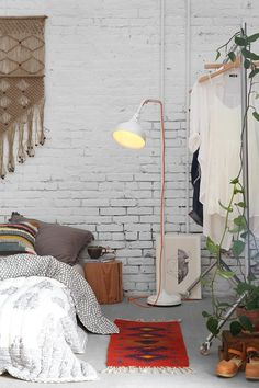 Bed On The Floor boho style