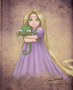 rapunzel - child