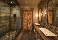 Well, there's no better time to give your small bathroom a fresh look. Small bathroom design is finally stepping out of the cookie… Continue Reading → Rustic Bathroom Designs, Rustic Bathroom Vanities, Rustic Bathroom Decor, Small Bathroom, Bathroom Ideas, Bathroom Wall, Modern Bathroom, Minimalist Bathroom, Design Bathroom
