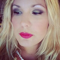 Wearing Smart Bomb Cosmetics!! Check us out at smartbombcosmetics.com