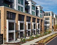 The Lyric Capitol Hill Apartments, Seattle, WA Architecture Building Design, Brick Architecture, Building Facade, Residential Architecture, Brick Design, Facade Design, Exterior Design, Brick Facade, Facade House