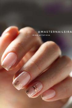 Foil Nail Designs, Neutral Nail Designs, Neutral Nails, Beautiful Nail Designs, Art Designs, Maroon Nail Designs, Line Nail Designs, Chic Nails, Classy Nails