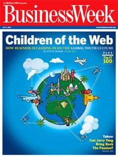 """Business Week cover """"Children of the Web"""""""