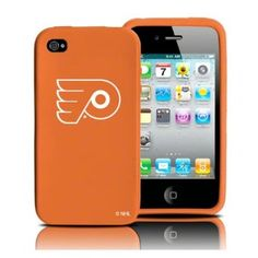 Philadelphia Flyers iPhone 4 and 4S Case: Silicone Cover: