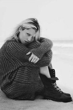 "Hana Jirickova in ""Grosse Freiheit"" by Nick Dorey for Vogue"