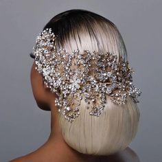 Headpiece Wedding, Bridal Headpieces, Fascinators For Weddings, Bride Hair Accessories, Jewelry Accessories, Bridal Hair Vine, Bridal Crown, Bride Hairstyles, Hair Piece