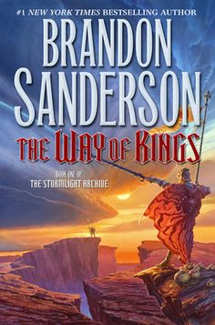 The Way of Kings.  New series written by Brandon Sanderson.  Amazing book, as well as all of Sanderson's books.