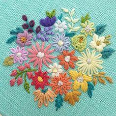 #rainbowflowers