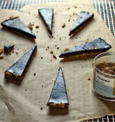 Recipe for Salted Dark Chocolate Tart with an Olive Oil Crust from @Winnie Abramson