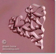 DIY Valentine Paper Crafts: How To Make A Valentine Heart Of Hearts