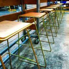 A sea of stools! Just delivered to #twobirdsbrewery . #stool #barstool #design #craftbeer #spotswood #interiordesign #interiordecor #bar #australiandesign #melbourne #melbournestyle