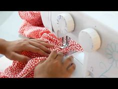 Cómo poner el cordón de escote a tu traje de flamenca - Tutorial - YouTube Deco, Sewing, Pattern, Inspiration, Dresses, Youtube, Women's Fashion, Folklore, Flower