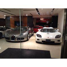 Bugatti Veyron + koenisgegs