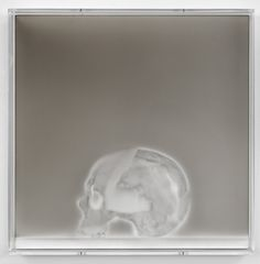 Untitled, 2009 Smoke and soot on wood 44 x 44 cm, Claudio Parmiggiani