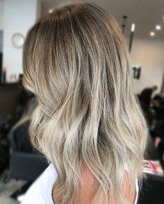 Cool ash blonde