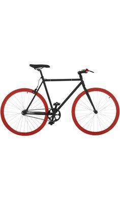 Vilano Fixed Gear Bike Fixie Single Speed Road Bike, Black/Red, 54cm/Medium Best Price