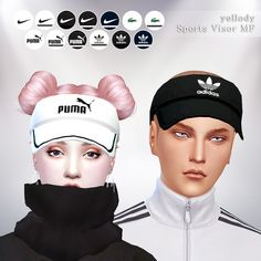 sports visor MFyellody's CC Download! • sports visor. • Unisex Adult. • The Mesh is by @ohmycc and you need to download it [here]. Download (blog) LOOK CC - @sims4-marigold​ @younzoey-sims