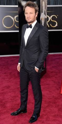 All the Star Arrivals at the Oscars! : People.com. Jason Clarke is the hottest piece of man meat alive.