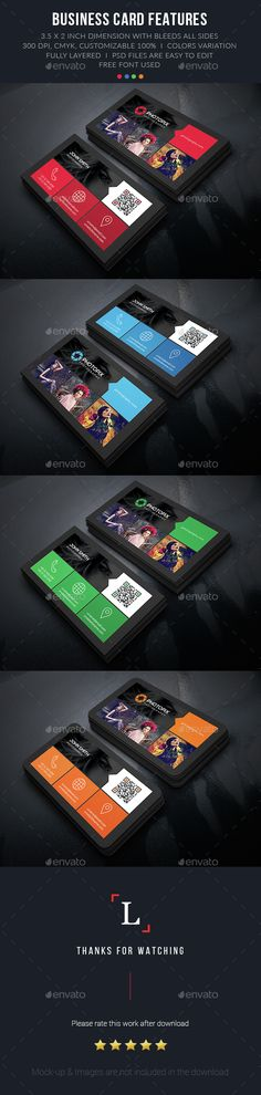 Color Photography Business Card Template PSD. Download here: http://graphicriver.net/item/color-photography-business-card/15217082?ref=ksioks
