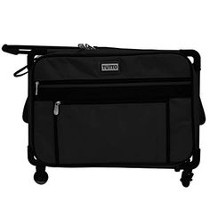 c1c911d2c3 Tutto 20 Medium Sewing Machine Bag on Wheels Black   Check out this great  product.