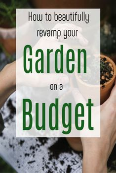 Revamp Your Garden on a Budget, top tips to give your garden makeover a low cost but fabulous revamp Garden Makeover, Backyard Makeover, Rustic Watering Cans, Garden Paving, Garden Landscaping, Flower Bar, New Year New Me, Raised Planter, Beautiful Gardens