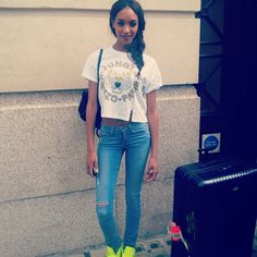 Jourdan Dunn can always be relied upon for street style inspo.