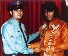 Mega Rare Two-tone wine glass leather suit..To the best of my knowledge Elvis only wore this suit for one show and that was August 30th 1974 - Hilton - Las Vegas - Mid-night show.