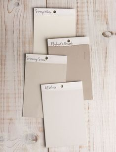 The Contemporary Neutrals from Farrow & Ball: these neutrals have a subtle urban feel that adds a contemporary twist to period homes, while being in keeping with modern properties. Room Colors, Wall Colors, House Colors, Farrow And Ball Paint, Farrow Ball, Exterior Colors, Exterior Paint, Skimming Stone, Elephants Breath