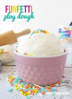 You'll never guess how simple it is to whip up this colorful play dough!