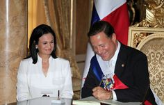 Toma de posesión del presidente de Panamá Juan Carlos Varela.