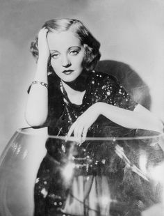Tallulah Bankhead, the originator of the painfully bored pose