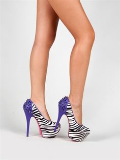 Betsey Johnson GRRACE Spike Platform Pump | Shop Betsey Johnson Shoes