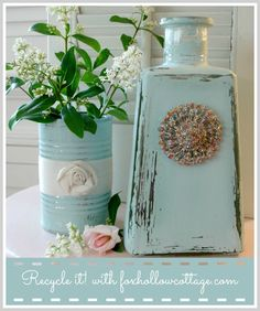 Talking Trash {to Treasure!} with Fox Hollow Cottage